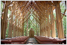 Anthony Chapel at Garvin Woodland Gardens, Hot Springs